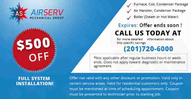 Coupons | AirServ Heating & Cooling